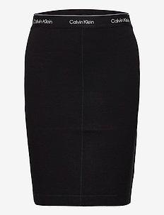 MILANO SKIRT - pencil skirts - ck black