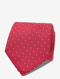 CLASSIC DOT TIE - ties - red
