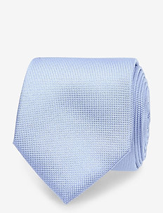 OXFORD SOLID TIE - ties - light blue