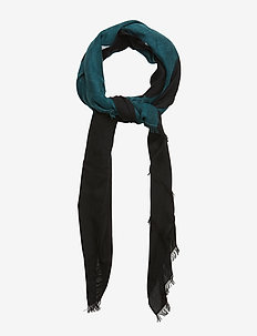 BLOCK OUT SCARF W - BLACK