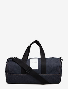 DENIM OMEGA DUFFLE - blue denim