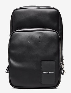 COATED CANVAS SLING - BLACK