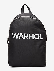 WARHOL TEXT CP BP NO - black