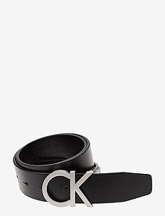 CK ADJ. BUCKLE BELT - ceintures classiques - black