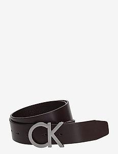 CK ADJ. BUCKLE BELT - belts - turkish coffe