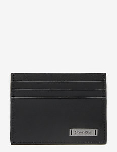 SMOOTH W PLAQUE CARD - titulaire de la carte - black