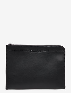 FLEX DOCUMENT CASE, - BLACK
