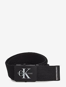 J 4CM ADJ.MONOGRAM C - belts - black