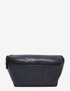 CK UP WAIST BAG - magväskor - navy