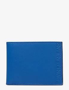 PLASTIC WALLET W/ KE - NAUTICAL BLUE