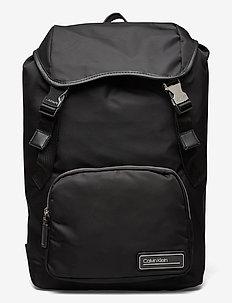 PRIMARY BACKPACK W FLAP - plecaki - black