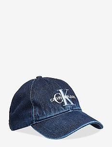 J MONOGRAM DENIM CAP - DENIM