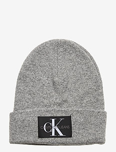 J BASIC MEN KNITTED - MID GREY HEATHER