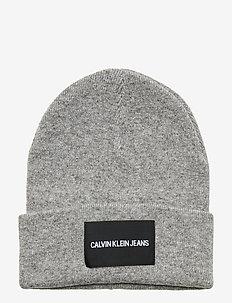 J INSTITUTIONAL BEAN - czapka - mid grey heather