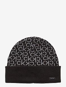 INDUSTRIAL MONO BEAN - bonnet - black