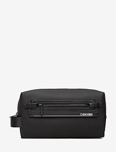 MOULDED WASHBAG - BLACK