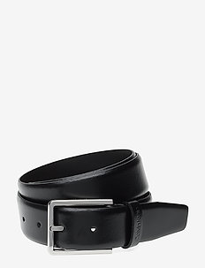 3.5CM BOMBED BELT - BLACK