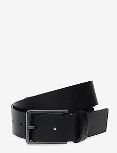 3.5CM ESSENTIAL BELT - BLACK/OLIVE