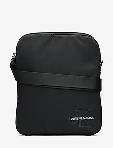 CKJ MONOGRAM NYLON MICRO FP - BLACK