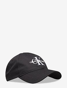J MONOGRAM CAP WITH EMBROIDERY - petten - black beauty