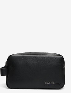 CK BOMBE WASHBAG - toilettassen - ck black