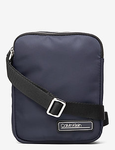 PRIMARY MINI FLAT CROSSOVER - shoulder bags - ck navy
