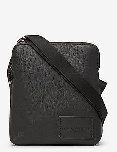 CKJ MICRO PEBBLE MIC - shoulder bags - black