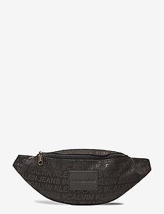 CKJ SPORT ESSENTIALS - bum bags - black w/ #ckj