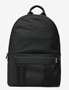 NASTRO LOGO BACKPACK - ryggsekker - black