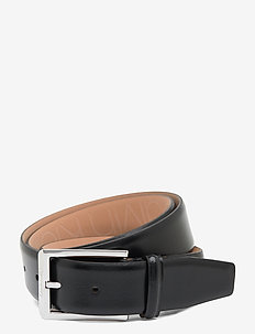 35MM ADJ SKIVED BUCKLE - belts - black