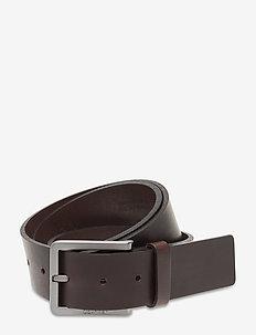 40MM ESSENTIAL PLUS - belts - dark brown