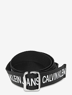 CKJ OFFDUTY TAPE 35MM - gevlochten riemen - black