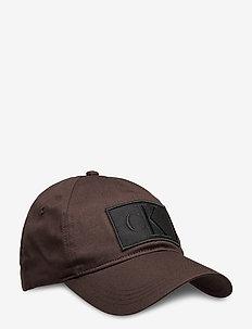 CKJ ESSENTIALS CAP - petten - bitter brown