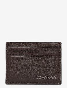 CARDHOLDER 6CC - cardholder - dark brown