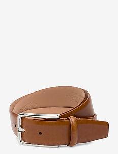 SCORE LINE BUCKLE FIXED 35MM - ceintures classiques - cognac