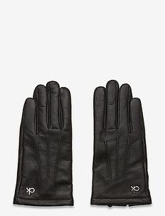 GLOVES LEATHER W/BOX - gloves - black