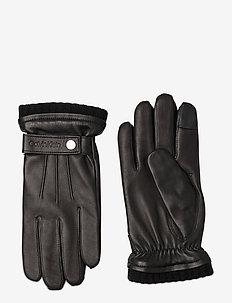 GLOVES W/SNAP - hansker - black