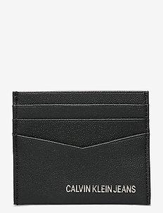 CARDCASE 4CC - korthållare - black