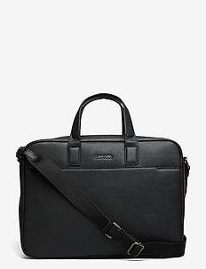 2G LAPTOP BAG - tietokonelaukut - ck black