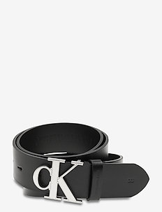 LOGO TEXT SM LTH 35 MM - riemen - black