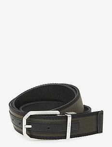 REV CUT OUT BUCKLE WEB 35MM - ceintures classiques - black/olive