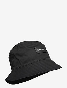BUCKET HAT - bucket hats - ck black
