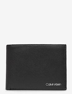BIFOLD 5CC W/COIN - klasyczny portfel - black