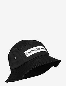 BUCKET INSTITUTIONAL - bucket hats - black