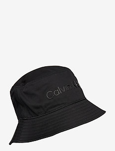 BUCKET HAT - bucket hats - ck black