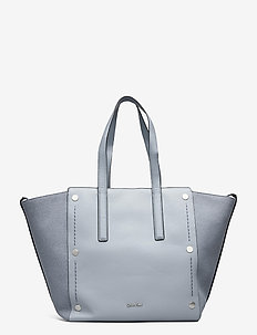 YVON LARGE TOTE TEX - shoppers - mineral wool/ mineral