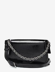 DRESSED UP SHOULDER BAG - black