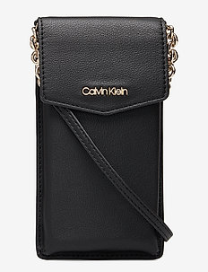 CK MUST PHONE POUCH - BLACK