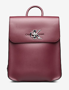 CKJ MONOGRAM HW BACK - beet red