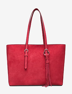 FRINGE SHOPPER SU - fashion shoppers - barn red